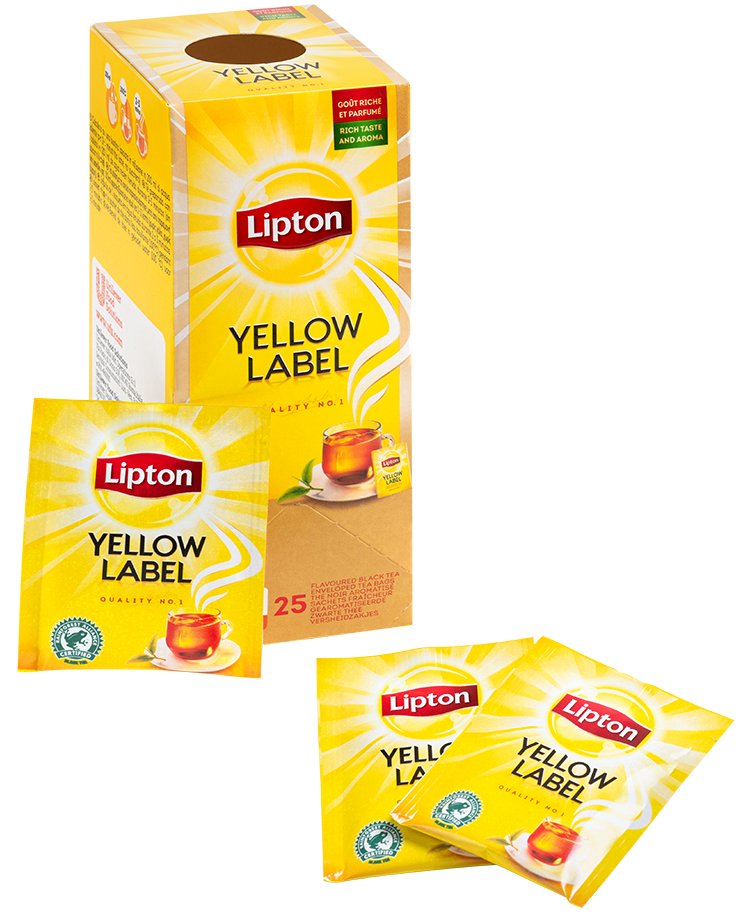 Lipton Everyday Yellow Label - 25 ST