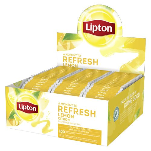 Lipton Balance Black Tea Lemon - 100 ST