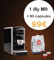 illy Pack | M9 + 90 capsules Scura MPS